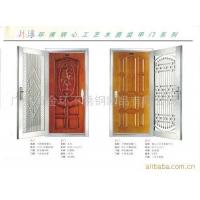 环球装甲门-不锈钢装甲套门