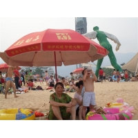 沙滩伞 广告伞 设计加工!