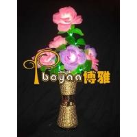 玫瑰花花瓶灯 LED花瓶灯
