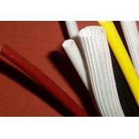 熙晓品质黑色内胶外纤玻璃纤维套管 白色内胶外纤套管