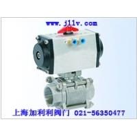 JLQ6气动三块式内螺纹/焊接/卡箍/接管焊接球阀