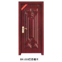 南京室内门-邦坤室内门-BK-203巴西檀木