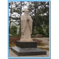 石雕孔子像,孔子行教像