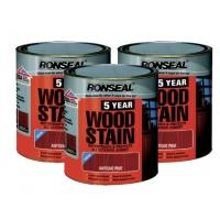 英国皇室牌RONSEAL 五年保固木器着色涂料 环保防水防霉