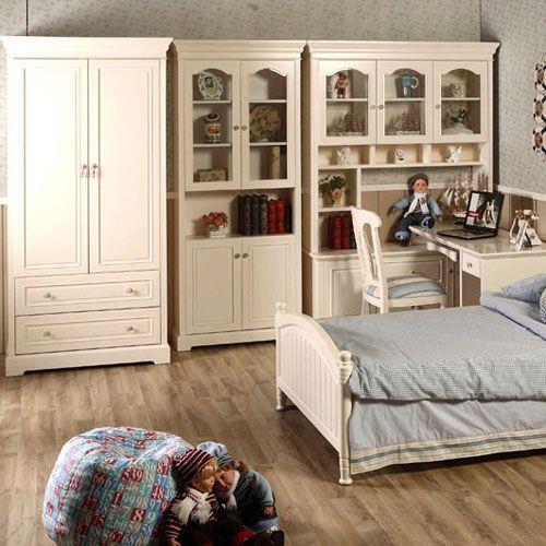 Y-单身套房A(床+两门书柜+两