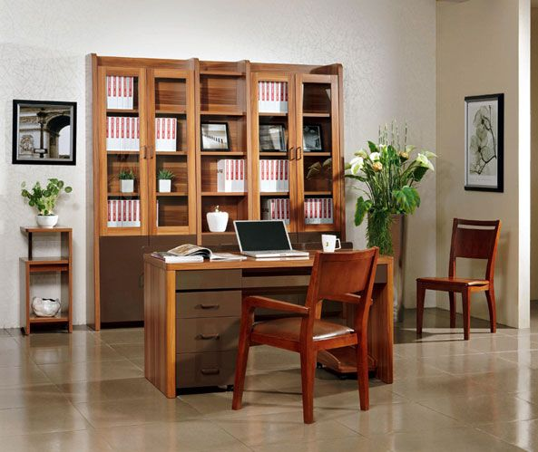 Z-901书柜+901书桌、书架、小