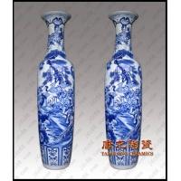 祝寿陶瓷花瓶,开业庆典礼品花瓶,瓷器大花瓶