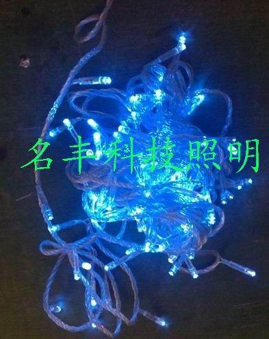 10米100灯LED七彩星星灯串