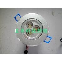 3W大功率LED天花灯防雾防尘防雨