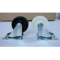 大量出售2寸白色/黑PP平底活动脚轮 音响转移万向轮