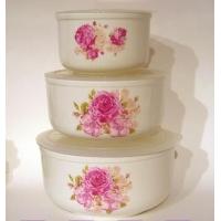深圳陶瓷保鲜碗↗陶瓷保鲜碗三件套