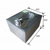 污水自动提升冲洗不锈钢蹲便器