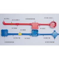 泰德彩色PVc穿线管,电工管及管件
