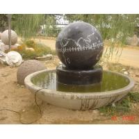 大理石喷泉风水球