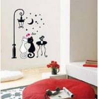 甜蜜猫 秀美墙贴 韩国墙贴 装修装饰 交换空间