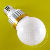 【嘉瑞照明】 3*1W LED球泡灯 LED节能灯 LED灯