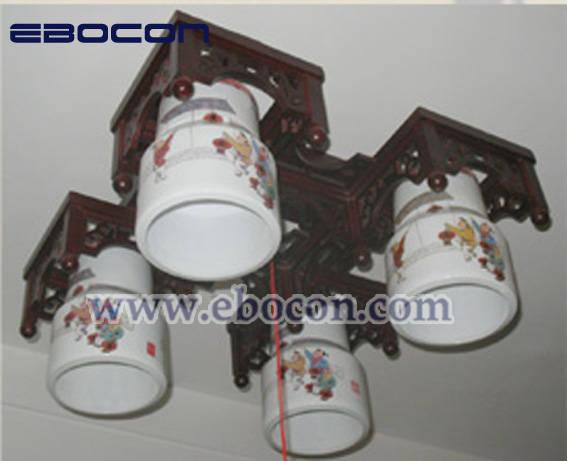 中式陶瓷吊灯 - ebocon