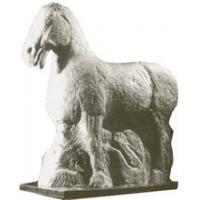 艺蔓莎经典艺术沙岩-雕像系列-马踏匈奴