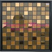 高档水晶直销 水晶马赛克 酒店、KTV背景墙 室内墙 25*