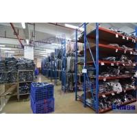 东莞服装厂货架,中型服装仓库货架,牧隆货架公司生产质量好
