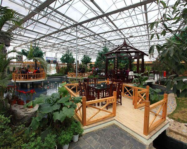 锡林浩特绿农生态园餐厅设计