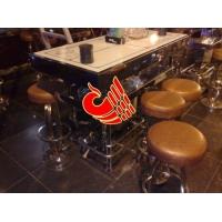 宜春真皮酒吧椅,啤酒盖吧凳,欧式吧桌吧凳,酒吧不锈钢吧台吧椅