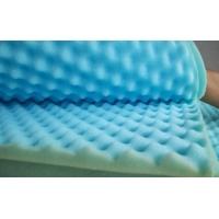 彩色吸音棉,波浪棉,鸡蛋棉(蓝色)