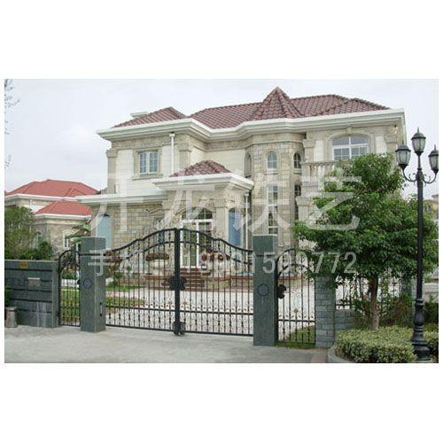 美国欧式别墅大门