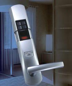 酒店智能锁 adel 爱迪尔 指纹锁 高清图片