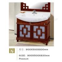 橡木浴室柜029