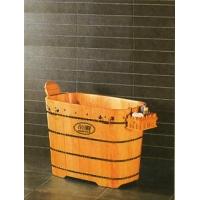 川浴木桶-平边方桶