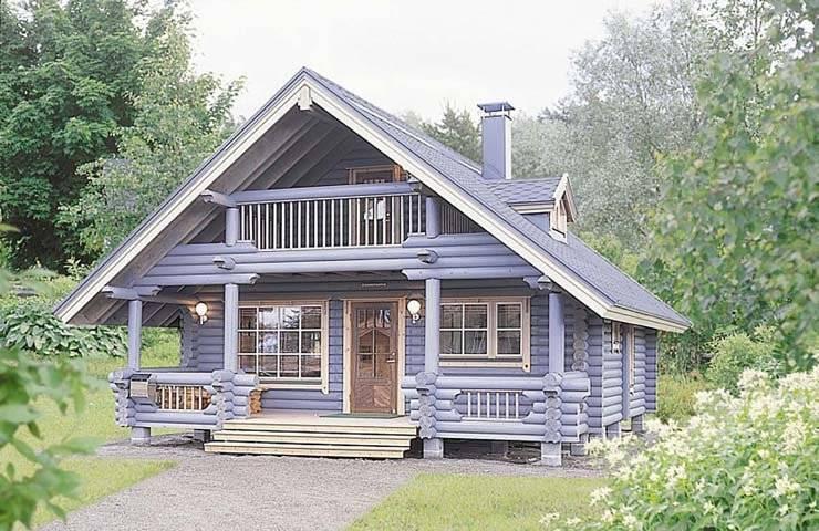 芬兰木制别墅产品图片
