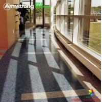 阿姆斯壮PVC地板翠丽龙 优质卷材高级耐磨防滑地板