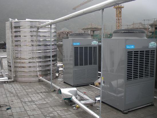 南宁热泵 南宁空气能热水机组 广西太阳能中央热水工程