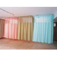 医院各种颜色窗帘、阻燃隔帘、病床隔帘、医院隔帘