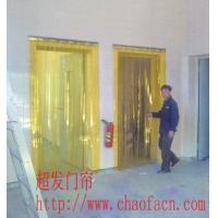 黄色透明pvc门帘