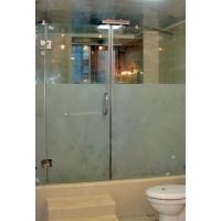 浴室夹玻璃门