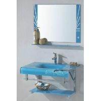 成都新标卫浴玻璃浴室柜