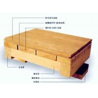 实木运动地板 柞木
