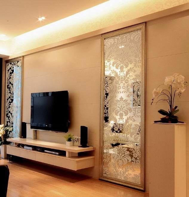 嘉利彩硅藻泥用于背景墙,玄关,端景墙更显艺术特质.