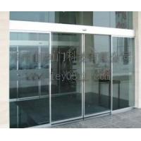 专业维修黄江自动玻璃门 良治平移自动门  超重型工业门生产厂