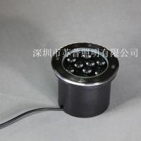 深圳苏普照明供应LED埋地灯 广场地埋灯 圆形LED灯具