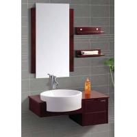 海景挂墙式浴室柜
