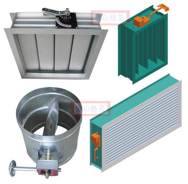 单叶打开  连接机构:简单手柄,6档调节机构,涡轮调节机构,  电动调节图片