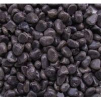 珍珠黑机制鹅卵石,水洗石