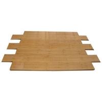 成都康丽竹地板-碳化亮光散节竹地板