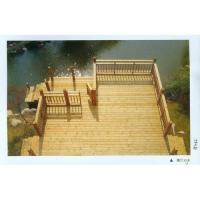 南京防腐木-南京富朗园林景观防腐木-木桥、亲水平台3