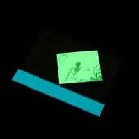 夜光透明背胶膜