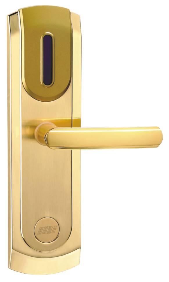 门锁卡片矢量图