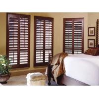 实木百叶窗 欧式木窗 别墅门窗 实木窗